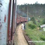 pogled s vratiju vlaka